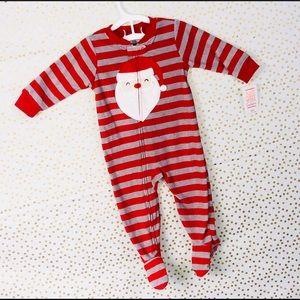 NWT!!!!! Red stripe Holiday Santa Pajama Set!!!!!!